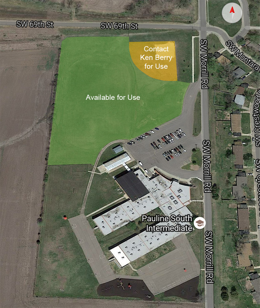 Pauline South Facility Map