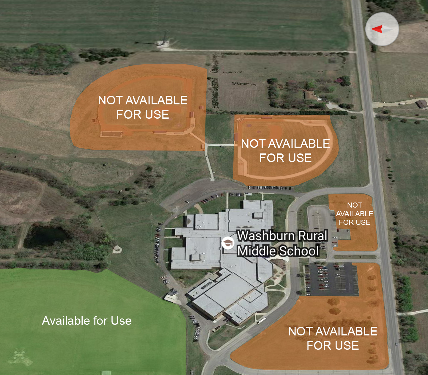 Middle School Facility Map