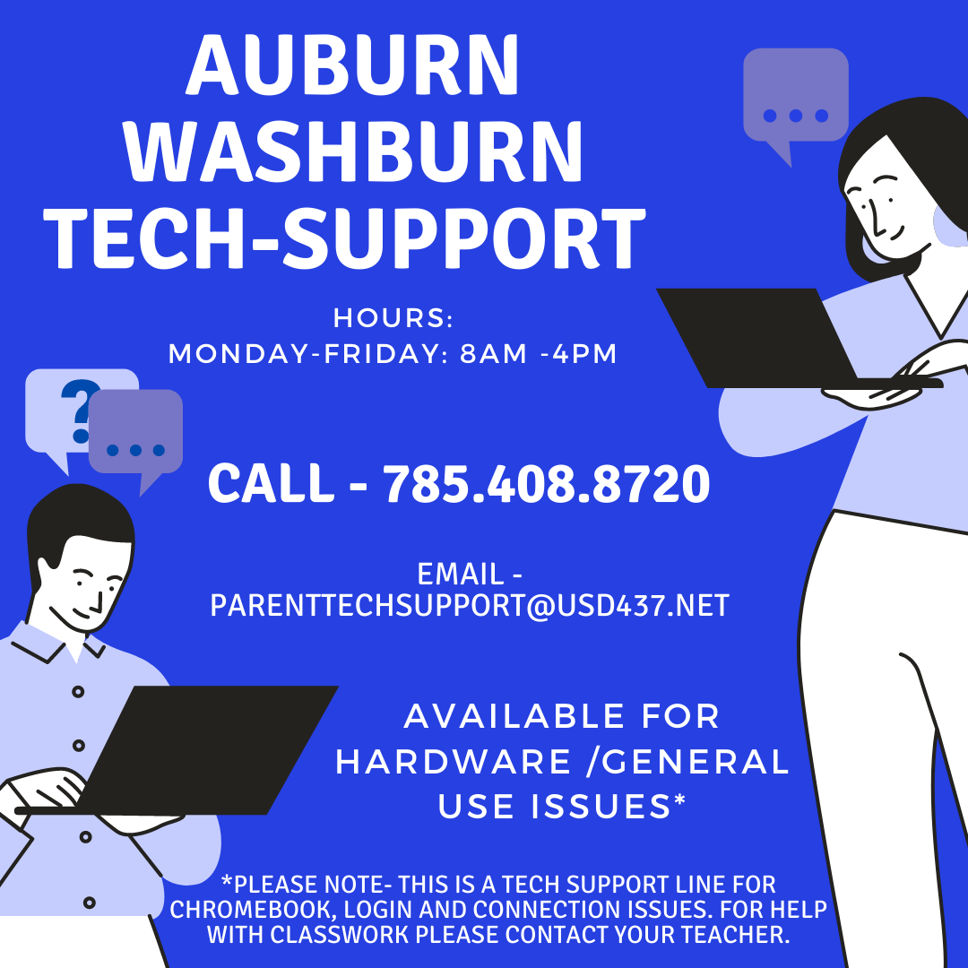 Auburn-Washburn Tech Support