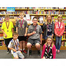 Congratulations for earning your reading medals