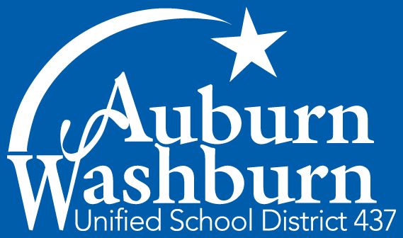 Auburn-Washburn district logo (white, no gradient)
