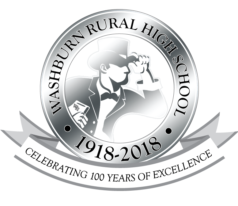 Washburn Rural High School, 1918-2018. Celebrating 100 years of excellence.