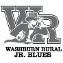 Washburn Rural High School logo (grayscale)