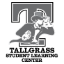 Tallgrass Student Learning Center logo (grayscale)